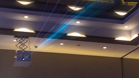 cinema projector business interior presentation Фото со стока