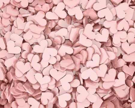 Hearts, Valentine's day background