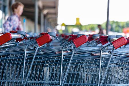Shopping Trolleys - Supermarket Shopping Theme