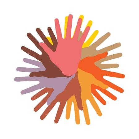 racial: helping hands.