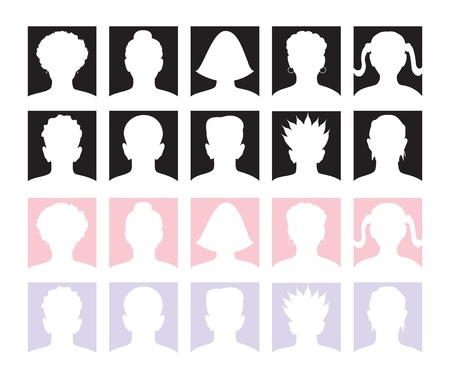 10 Anonymous Avatars and Mugshots.