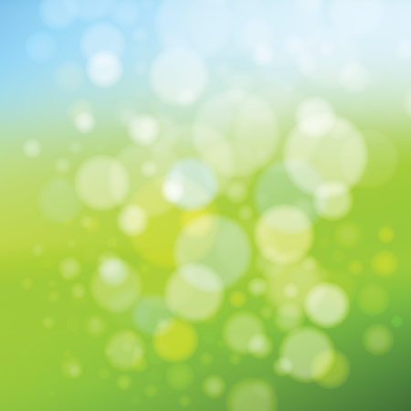 summer and spring background Vector