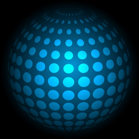 blue technology background, vector illustration eps10 Stock Vector - 14152871