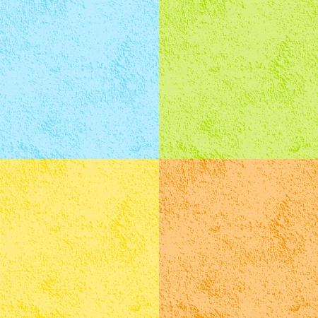 Set of Seamless Walls Pattern in seasons colors Vector