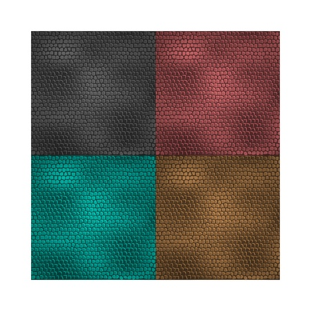brownish: Set of  leather patterns