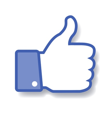like button: Thumb Up icon