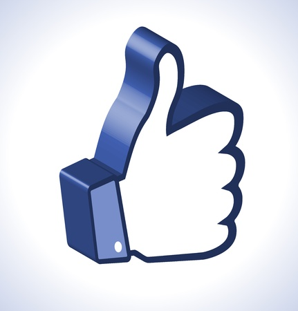 3d Thumb Up Vector