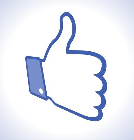 Unusual Thumb Up Stock Vector - 14931747