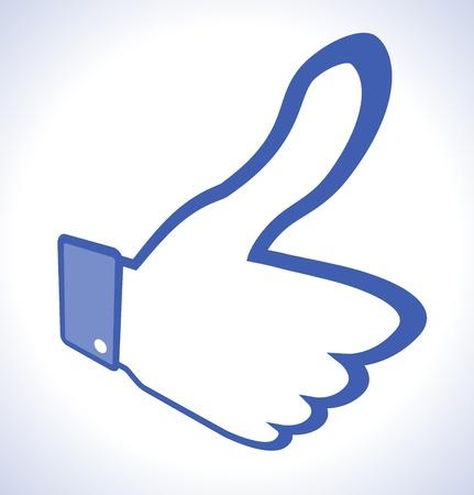Unusual Thumb Up Stock Vector - 14931744