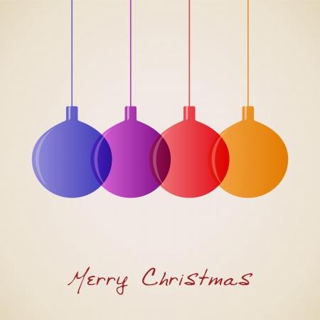 elegant christmas: Elegant Christmas decoration background, vector