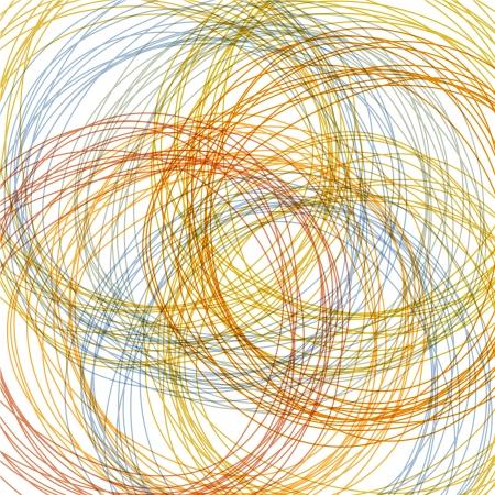 garabatos: dibujados a mano de colores de fondo, ilustración abstracta
