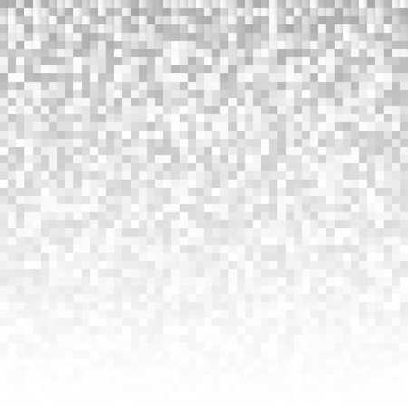 Abstract gray pixel mosaic background