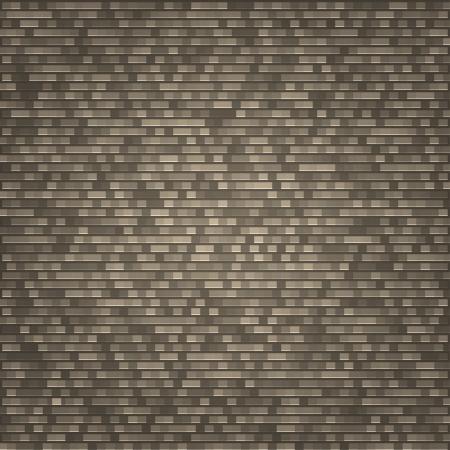 Brick wall background,  illustration Stock Vector - 16719147