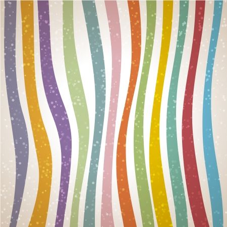 Colorful striped background, illustration Vector
