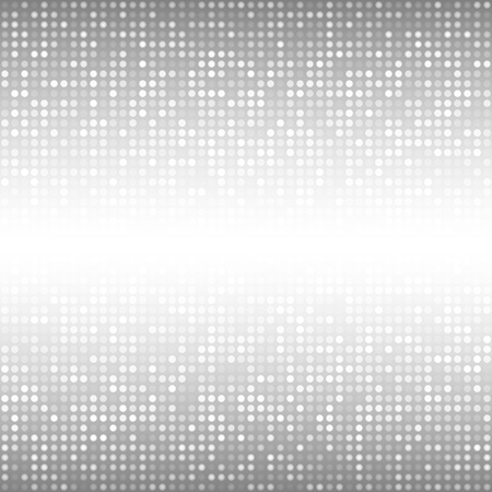Abstracte Grijze Achtergrond van de Technologie Stock Illustratie