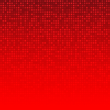 digital background: Abstract Red Technology Background