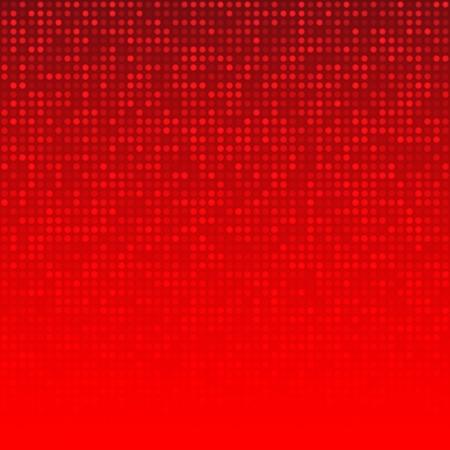 Extracto rojo de fondo de tecnología