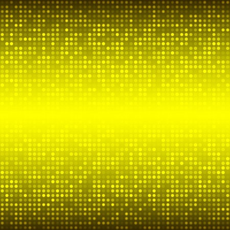 Abstract Yellow Technology Background Stock Vector - 20326187