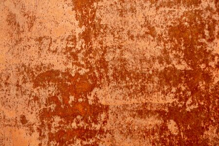 texture of old rusty metal painted. Abstract background. Old metal