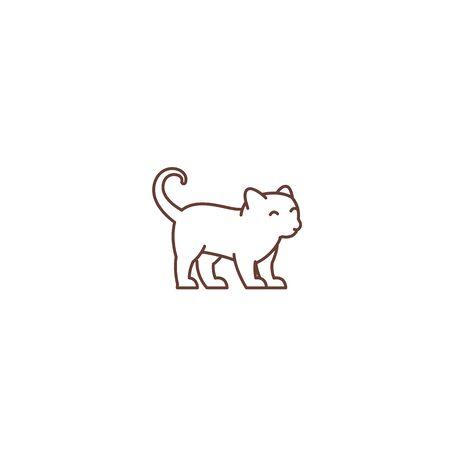 Cute little young kitten