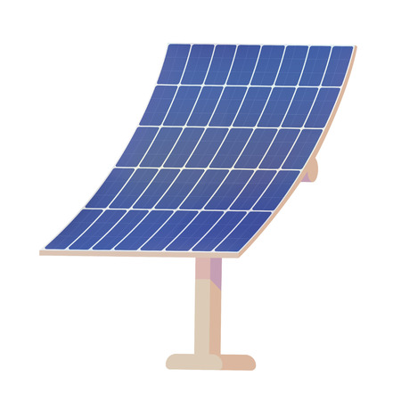 Panels for converting the energy of the sun into electricity.