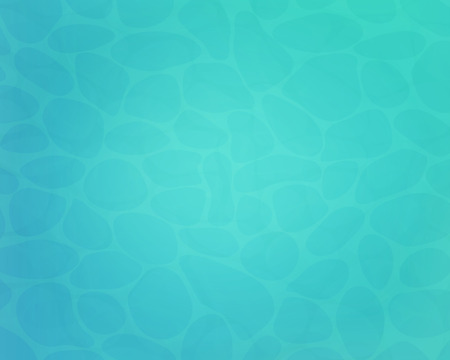 Summer caustic water texture. Top view water surface. Vector background for web banner or poster.