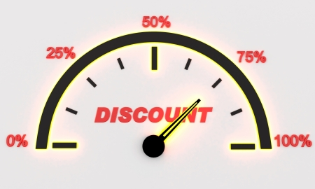 75s: Panel discounts from 0 to 100
