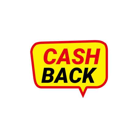 Cashback loyalty program concept. Credit or debit card with returned coins to bank account. Refund money service design. Bonus cash back symbol vector illustration Stock Illustratie