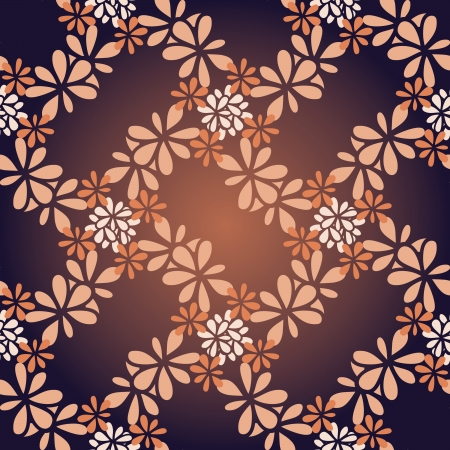 Seamless curly background like glossy vinous silk. Vector