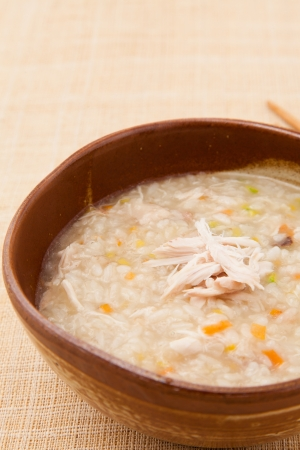 chicken soup: chicken soup Stock Photo