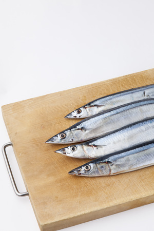 childrens food: pacific saury