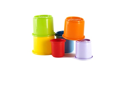 Toy buckets  photo