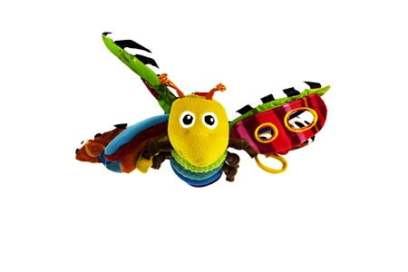 Flying toy bee photo