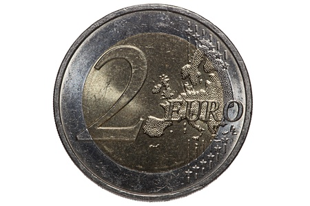 Two euro coin photo