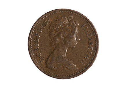 One Penny Coin photo