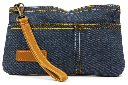 Pouch of denim   photo