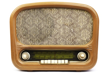 Old radio Stock Photo - 12569741