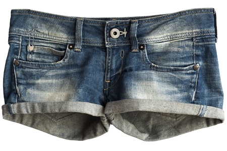 Women s Jeans Shorts Stock Photo - 12888718