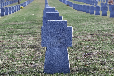 Soldiers  graves Stock Photo - 13229710