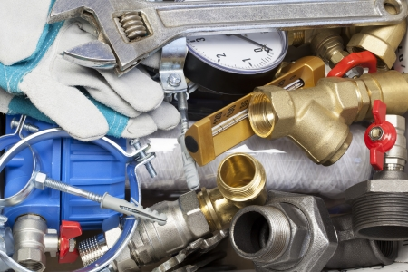 plumbing accessories: Various plumbing and  heating system accessories and parts