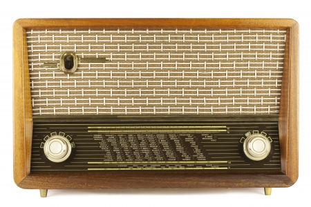 radio frequency: Old radio