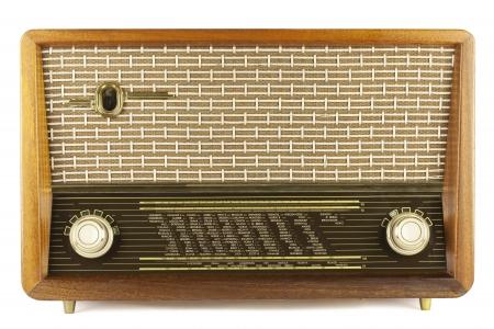 old technology: Vecchia radio