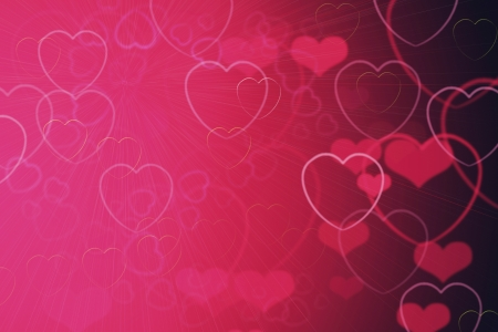 Background from the hearts photo