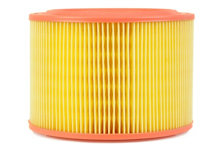 Auto air filter isolated on a white background Stock Photo - 17244139