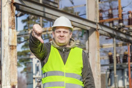 electrical engineer: Disgruntled Electrical Engineer in the electric substation