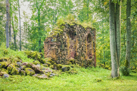 the old church: Old Church Ruins