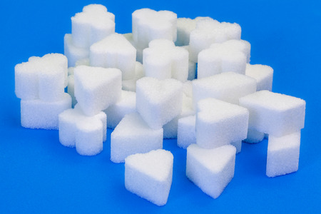 sugar cubes: Sugar cubes in various forms