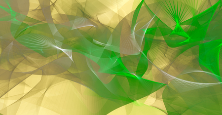 intensity: Abstract background in green and light brown colors Stock Photo