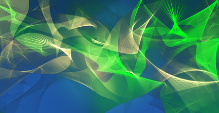 intensity: Abstract background in green,blue and light brown colors Stock Photo