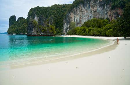 krabi: Bella spiaggia al mare delle Andamane Krabi Thailand